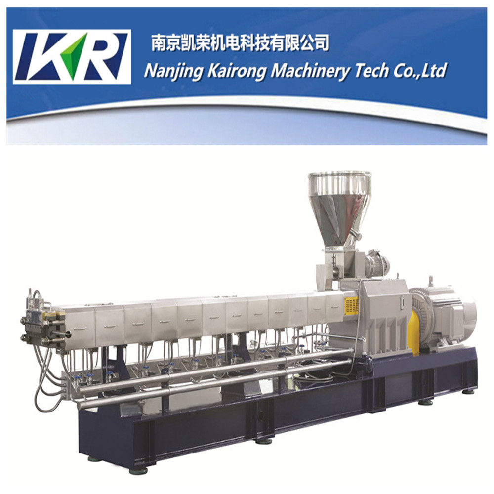 Factory Supplier Plastic Pellet Equipment Moisture Absorbent Masterbatch Extruder Color Granules Making Machine