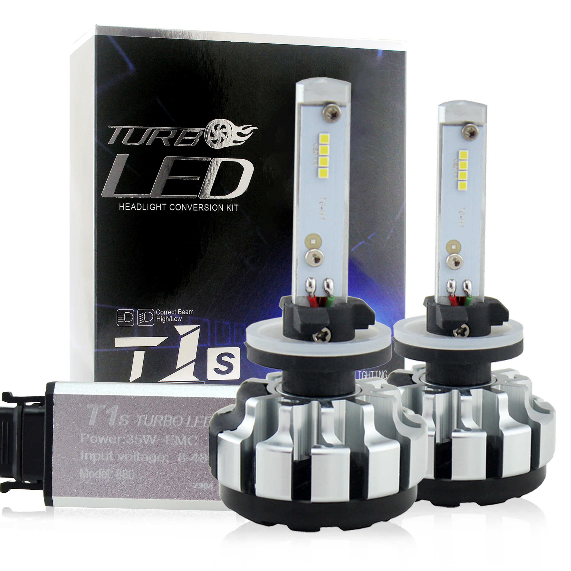 led headlight 80W 8000lm all in one T1S H1 H3 H7 H8 H9 <strong>H10</strong> H11 9005 9006 880 led <strong>car</strong> bulbs led <strong>car</strong> <strong>lamps</strong> 6000K CSP