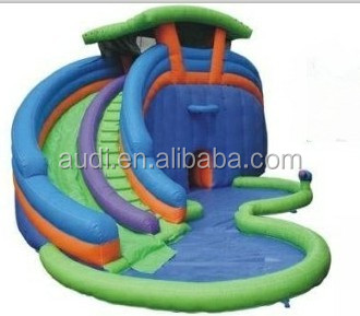 Cyclone Double Water park slide Lazy River
