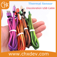 Newest Design Thermal Sensor Discoloration USB