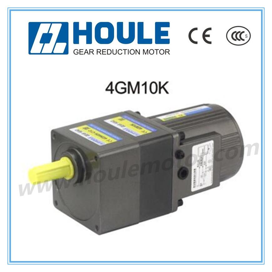 110v 220v 380v ac mini electric motor induction gear motor for Small ac gear motor