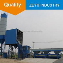 batch plant machine for small scale production plant HZS25 mini plant