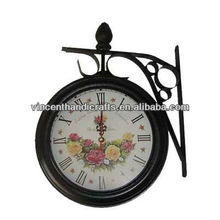 Rustic antique wall decorative clock for home & hotel decor