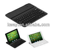 Bluetooth Keyboard Aluminium Case Cover Wireless keyboard for ipad mini Black White KKB029