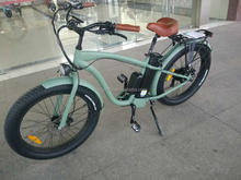 Wholesale Electric Bicycles 26'' Fat Tire 48V 500W Beach Cruiser