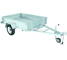 Hot dipped galvanized caged/box trailer