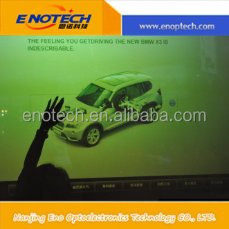 New Technology PET self adhesive capacitive interactive touch foil, smart touch film, transparent touch screen foil/film