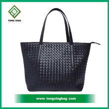 New design fashionable high quality beautiful pu leather travel tote bag