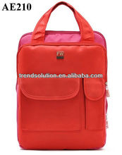 newest stock wholesale red laptop backpack