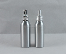 100 ml aluminum metal type personal care airless perfume spray bottle
