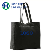 Promotional cotton custom white sport drawstring canvas bag