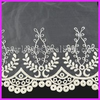 Bridal french sequence lace fabric WNL129