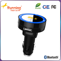 Portable USB Car Charging A2DP Function Bluetooth Car kits fm Transmitter