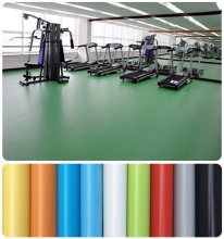 Professional Commercial Basketball Wooden Pvc Sport Flooring Mat