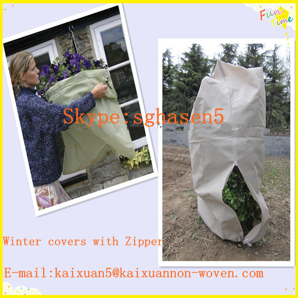 [BSCI FACTORY] Heavy duty plant warming jackets/nonwoven drawstring bag/non woven fabric price