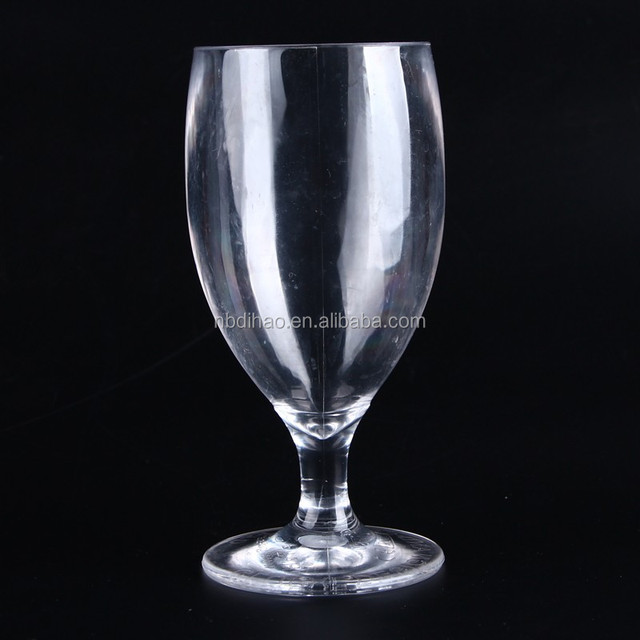 285ml Shot Stem Unbreakable Polycarbonate Plastic Beer Glass