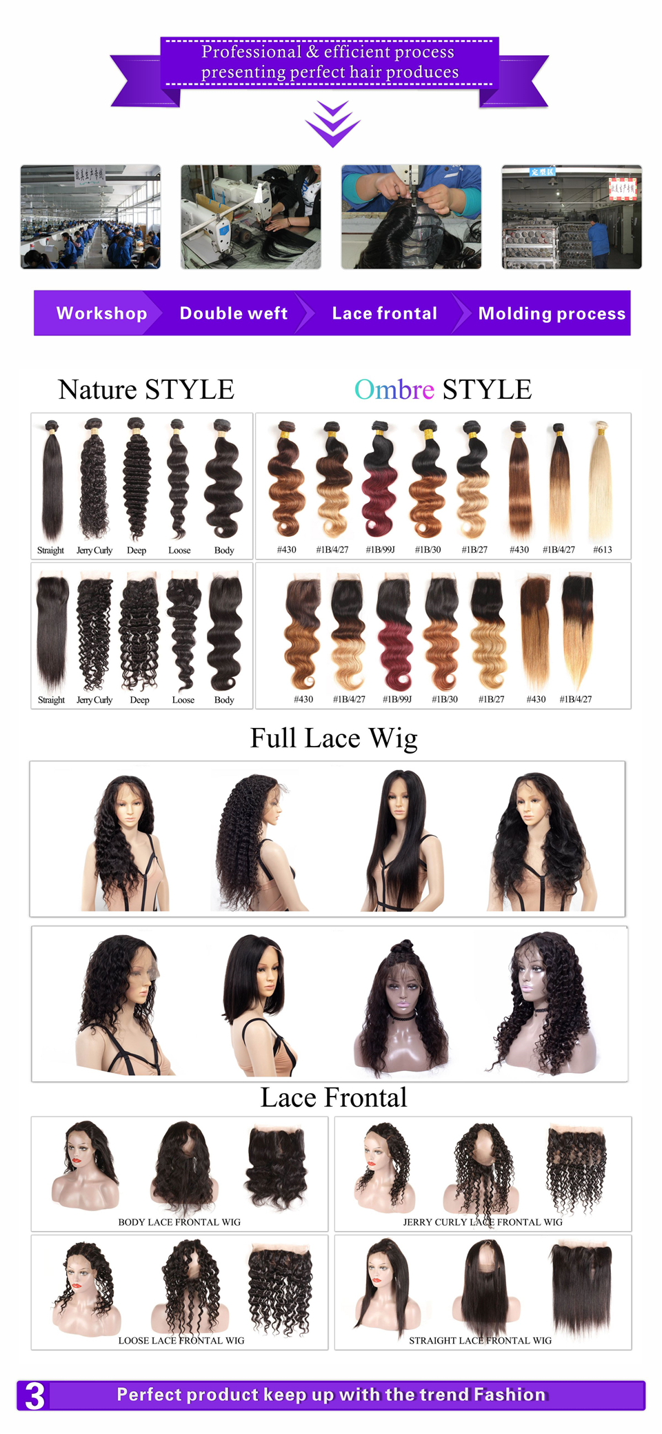 Best Seller 18 Inch  Straight 613# Full Lace Wig,100 Unprocessed Remy Brazilian Human Hair Wig for Fashion Women