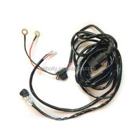 Universal LED Light Bar 14 Gauge Wiring Harness