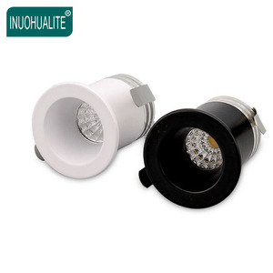 New Cabinet Showcase DC 12V 1W 3W 3 Watt Recessed Small Cob Led Mini Downlight
