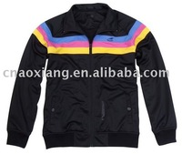 Ladies top quality sports coat , sports colored hoodies