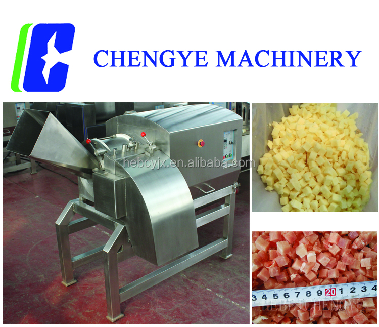 Frozen Beef Lamb Meat Dicer Cutter cutting machine DRD450