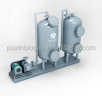 PUXIN small size BIOGAS DESULFURIZATION INSTRUCTIONS