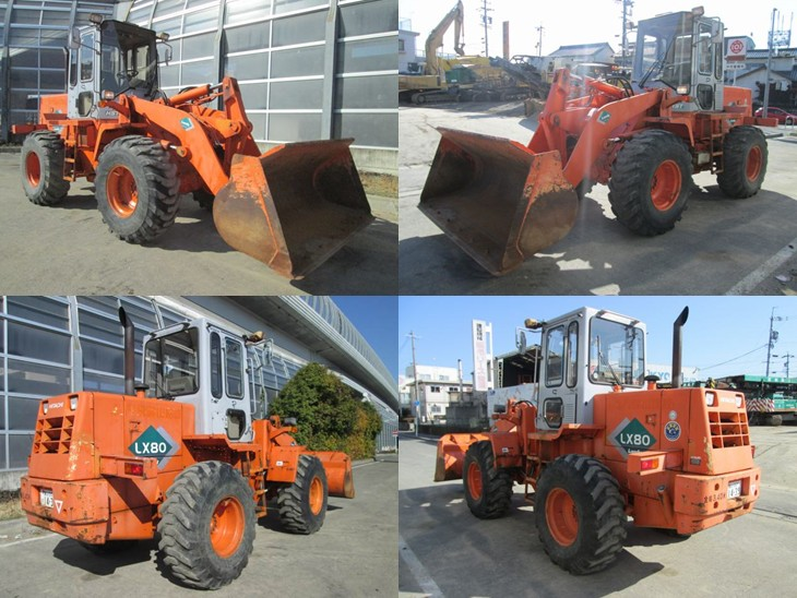 Wheel Loader For Sale Hitachi LX80-2 C <SOLD OUT>