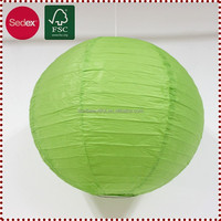 "10"" Hanging Paper Lanterns for Wedding Stage Decoration"