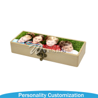 2017 Sublimation Pencil Box With Aluminum Sheet