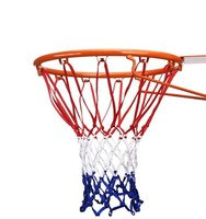 All-weather outdoor custom 12 loops basketball hoop net for youth