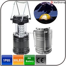 30LED high brightness portable umbrella lantern rechargeable camping tent light