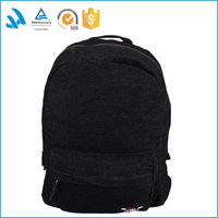 Black camp pattern backpack with cover travelling backpack