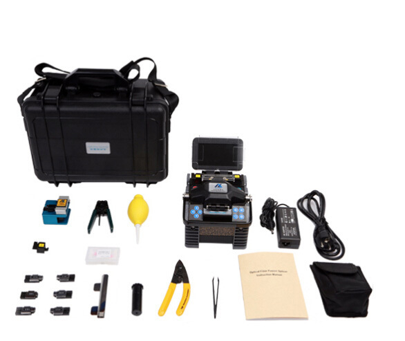 Fast Splicing Low Price Fiber Optical Fusion Splicer Eloik ALK-88A fiber fusion splicer