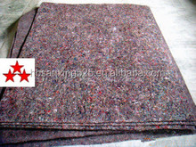 100% recycle polyester felt for Mattress with different color