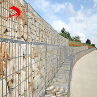 Hot sale 2*1*1m welded stone cages for gabions for Australia