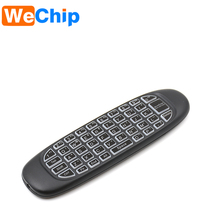 mini keyboard C120 2.4g universal remote control with fly mouse Keyboard