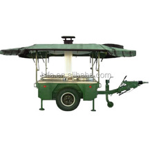 Military mobile kitchen for 150 man with cooking tools and accesories