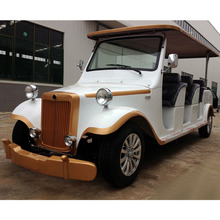 Real Estate Used Luxury 12 Seater Electric Classic Car / Vintage Car For Pick up