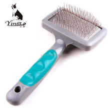 Yangzhou yingte high quality <strong>pet</strong> grooming plastic handle comb and brush
