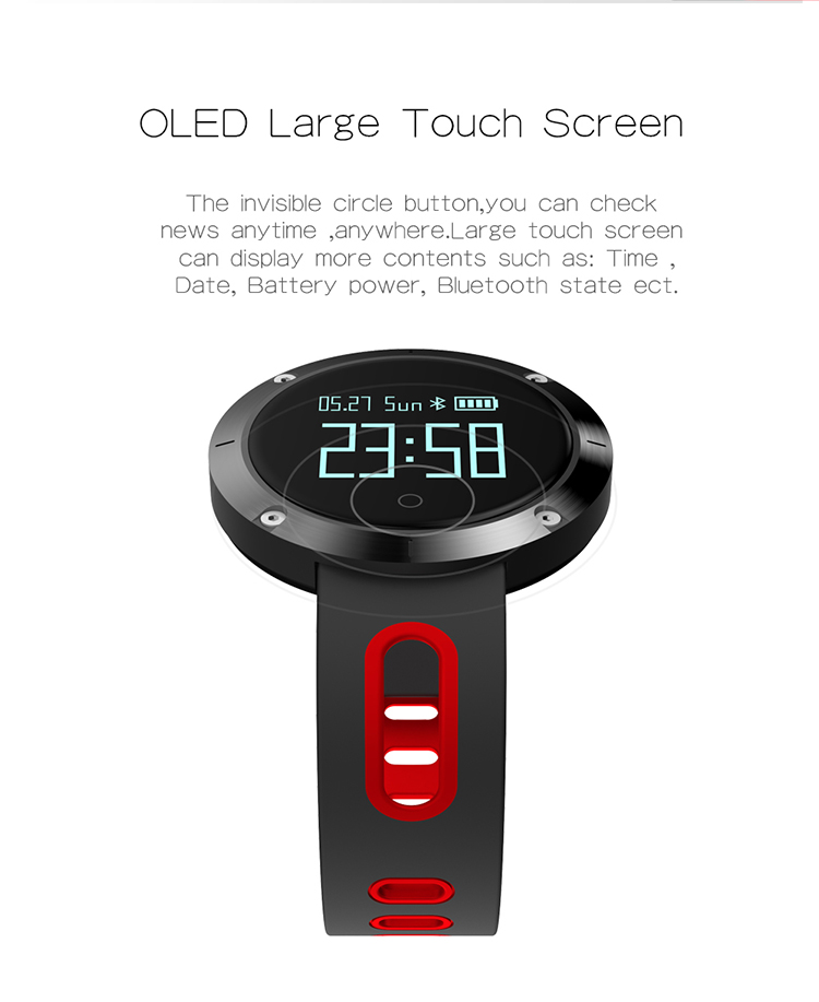 Factory wholesale price waterproof smart watch phone bluetooth 4.0 heart rate smart watch