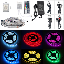Fod-sports Dimmable LED Strip Lights Kits Colored Rope Lights 16.4Ft for Indoor and Outdoor Decoration