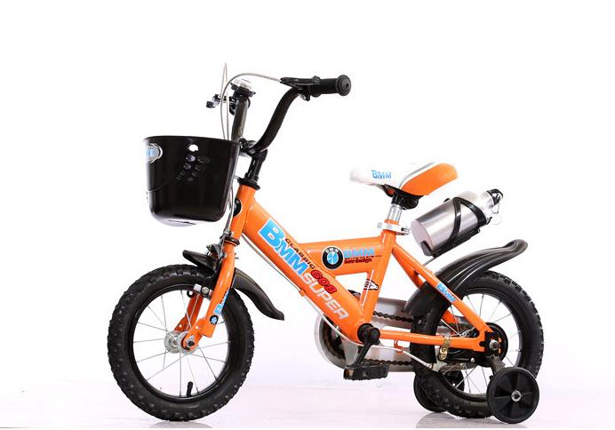 children bicycle 12 14 16 18 inch Kids 4 Wheel Kids bike with training wheel