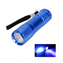 Pocket 9 LED UV Black Light Flashlight