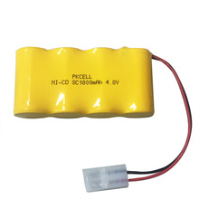 1.2v nicd sc 1800mah rechargeable battery with 3.6v sc1800 battery pack