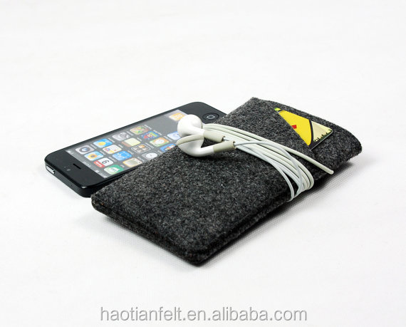 felt phone sleeves pouch cover order your size , color