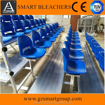 Factory production dismountable bleachers seating