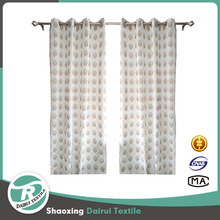 Fancy curtain designs jacquard sheer church curtain decoration