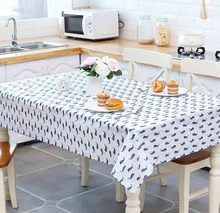 Wholesale Good Quality <strong>PVC</strong> Size 130*180 cm Rectangle Table For Coffee Dining Table Home Decoration Polyester Tablecloth