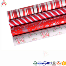Gift Wrapping Metalized Paper unique christmas wrapping paper