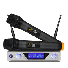 <strong>Manufacture</strong> of karaoke cordless microphone set with receiver MU868
